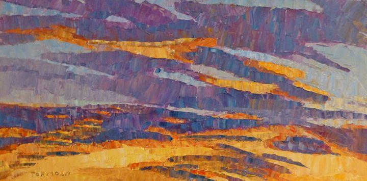 Sunset on Paseo - Susan Tormoen