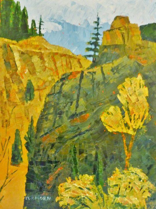 Three Flowers - Susan Tormoen