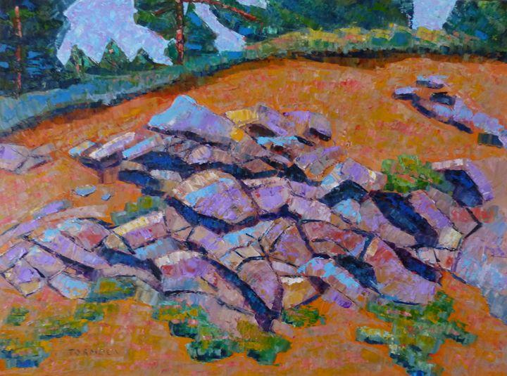 Rocks in Rhythum II - Susan Tormoen