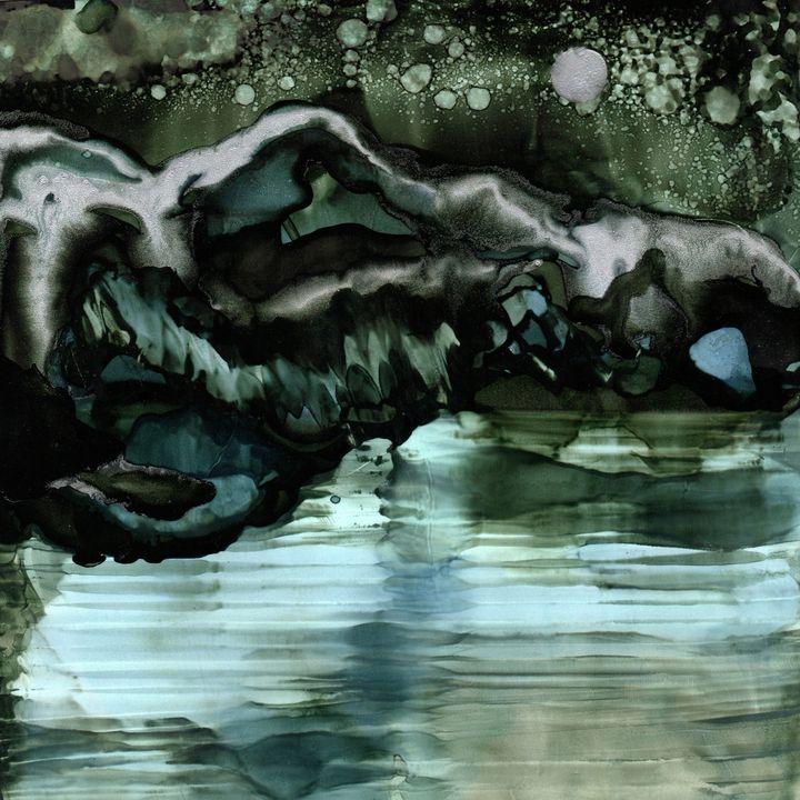 Black Ice Mountain - Alchemy Artisan Works