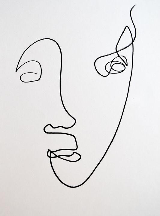 Faces & Single Line Drawing - TArt