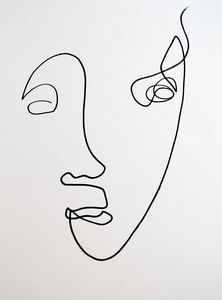 Faces & Single Line Drawing