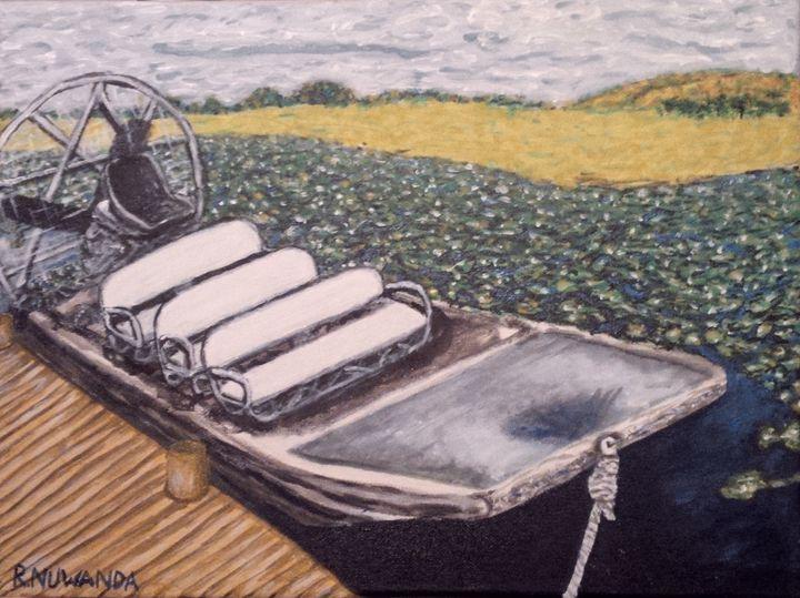 Airboat Ride - Robbie Nuwanda