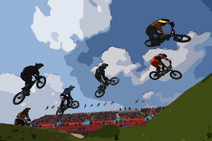 Cycling+BMX - moments to remember_01 - Sports and beautiful - JG