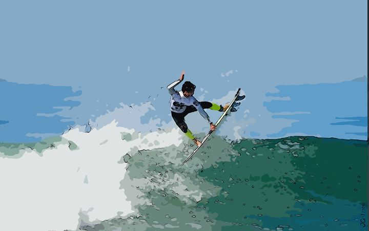 Surfing - moments to remember_06 - Sports and beautiful - JG
