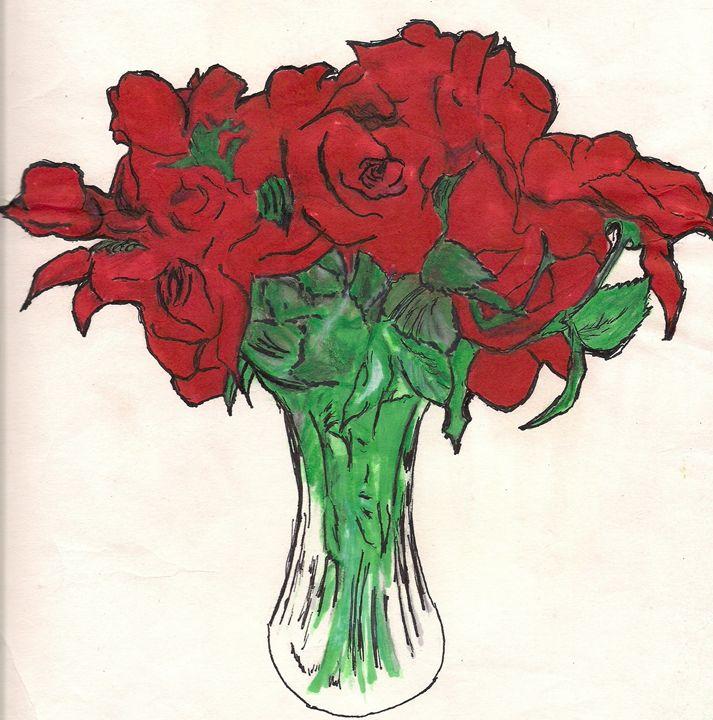 RED ROSES - Energetic