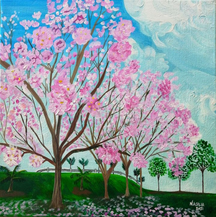 Pink Poui - Natalia Jones