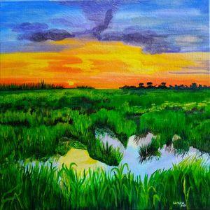 Caroni Sunset