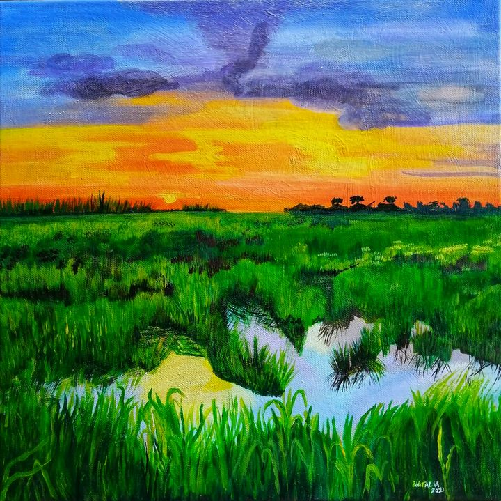 Caroni Sunset - Natalia Jones