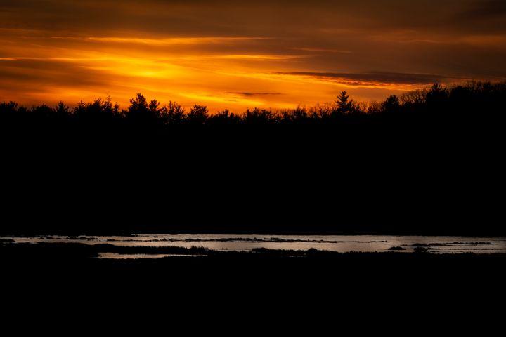 Dark Sunset - Ryan Houde Photography