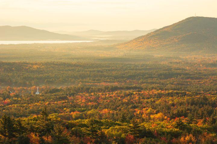 Basking in a Fall Sun - Ryan Houde Photography