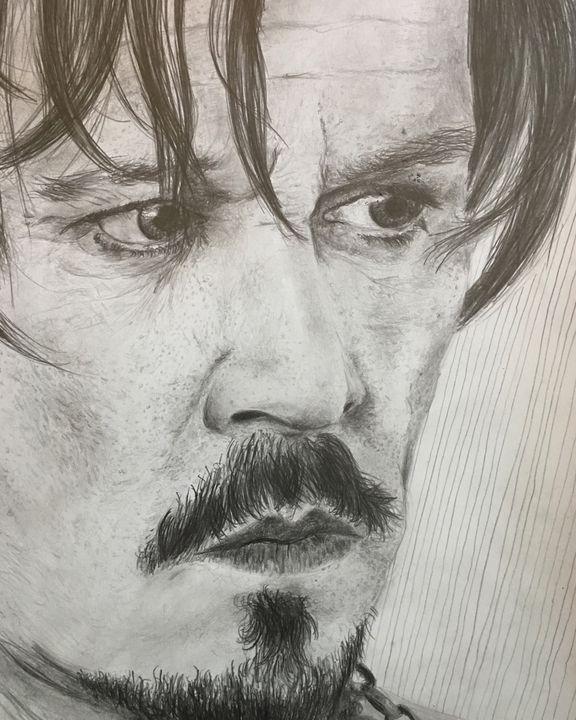 Johnny Depp - Evan Silvernale
