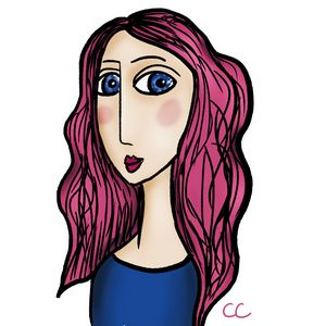 Kelly digital portrait