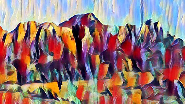 The Cliff - Nile Arts