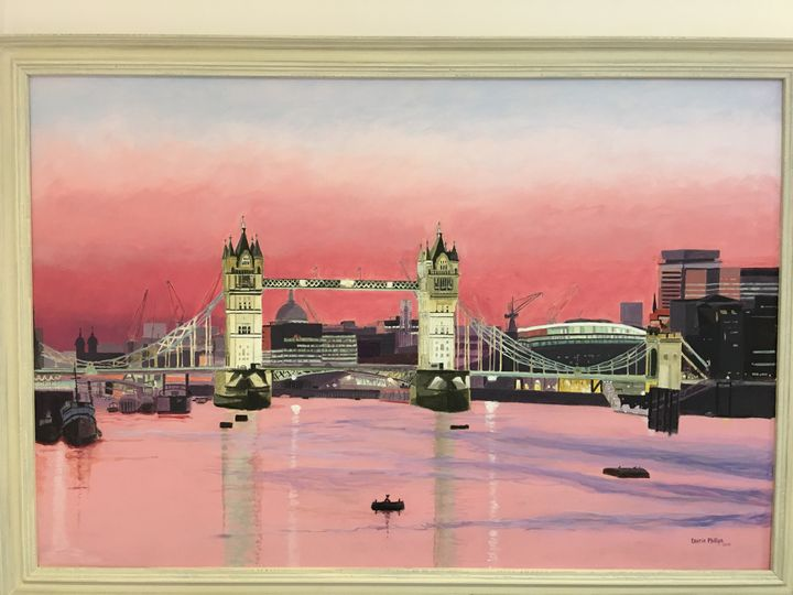 Tower Bridge at Sunset - Laurie Phillips