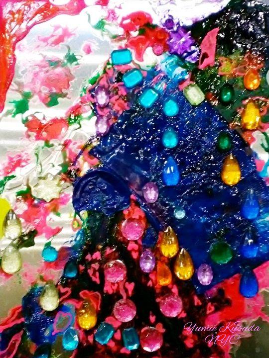 Roses and Gemstones - Yumie Kusuda NYC