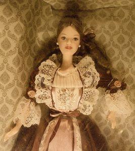 Victorian Barbie - sepia