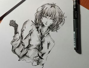 Yosano Akiko from Bungou Stray Dogs