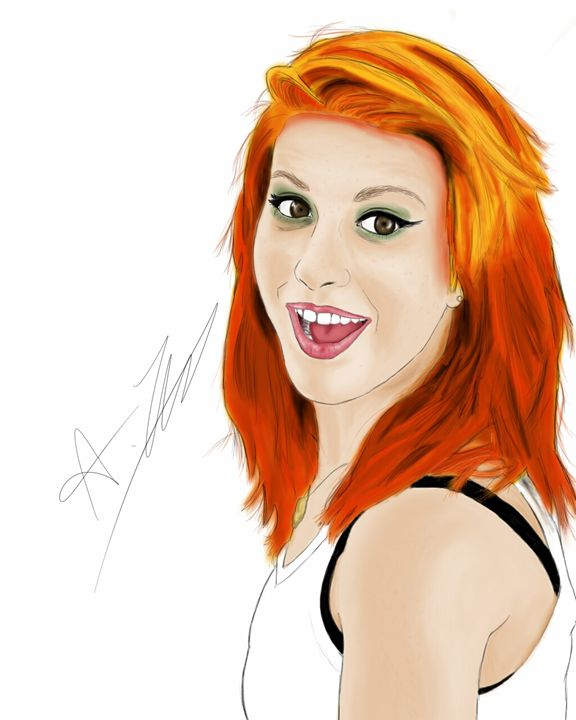 Hayley Williams - Andys Awesome Art