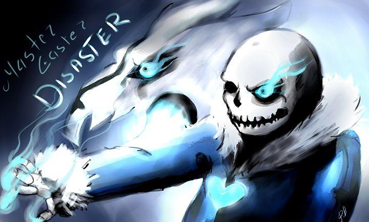 Fanart Master Caster Disaster -sans - Pencil Bun