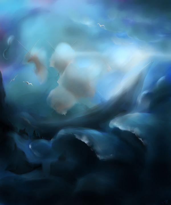 Ghost in Storm - Pencil Bun