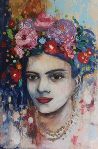 My first Frida Kahlo