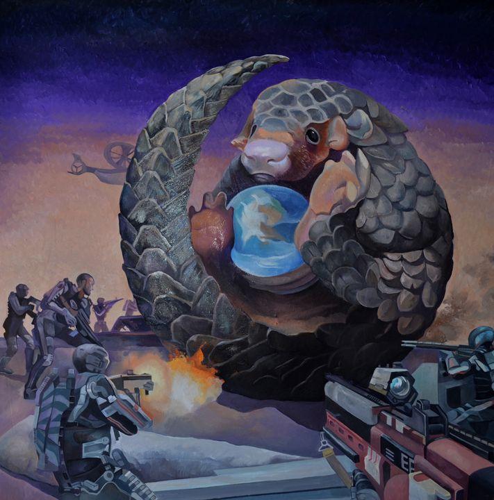Save my Planet - Tatyana Binovska Art