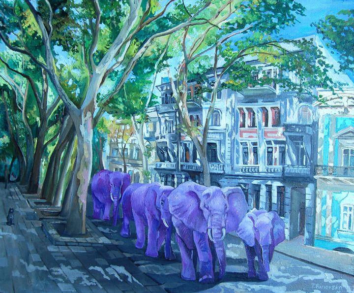 African Invasion. We took Odessa. - Tatyana Binovska Art