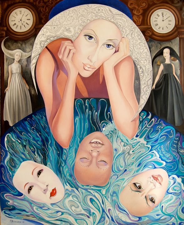 Lady Moon - Tatyana Binovska Art