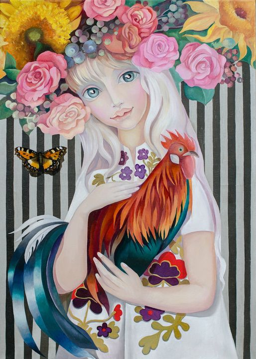 Lady Spring - Tatyana Binovska Art