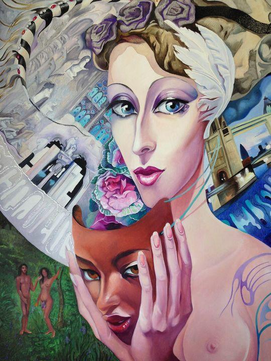 Lady Europe - Tatyana Binovska Art