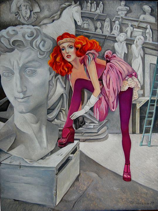 Modern Model - Tatyana Binovska Art