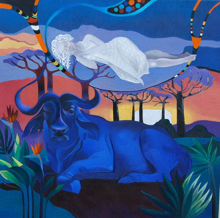 Night Dreams - Tatyana Binovska Art