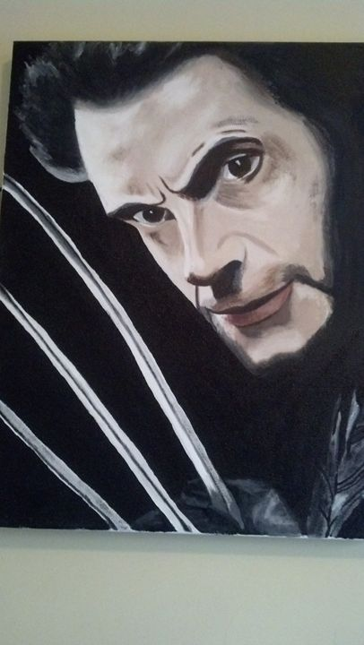 Wolverine Painting - Fictional Characters Artwork