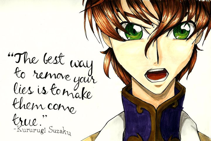 Quote from Code Geass - Jeremie