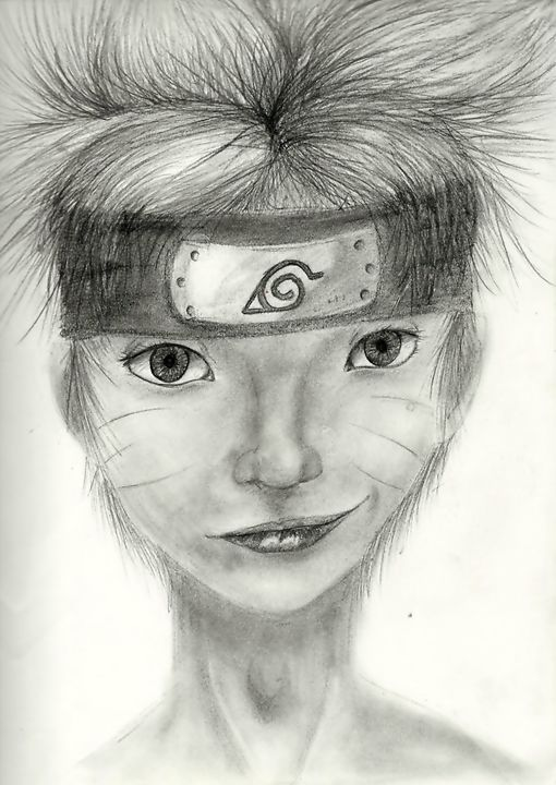 Realistic Naruto Jay Drawings Illustration People