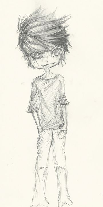 Cool chibi sketch - Jay