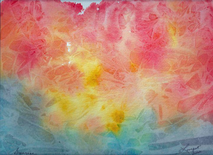 Caribbean Sunrise - Lovepat ARTS