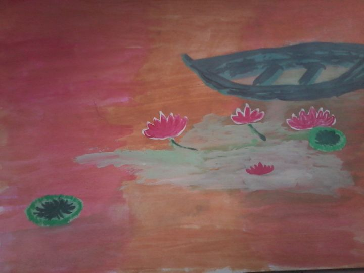 Lotus in pond - Monii