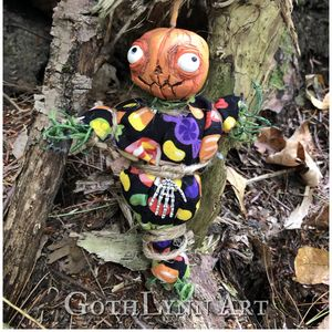 Pumpkin Poppet - Trick or Treat - GothLynn Art