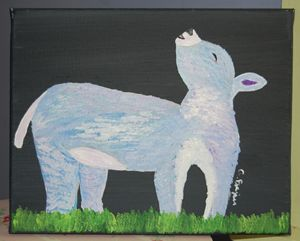 Rainbow Donkey - Fine Art on the Hill