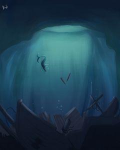 Underwater Grave