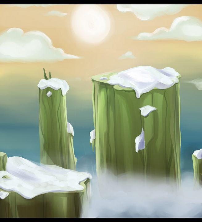 Snowy Cliffs - K. M. Barbee (Crowstien)