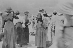 Ladies at Yellowstone 1915