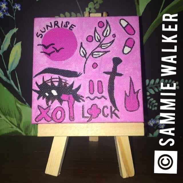 mini collage canvas - Sammie Walker