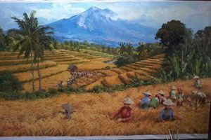 Field of Hope by D. Koestien - Indonesian Collector Art