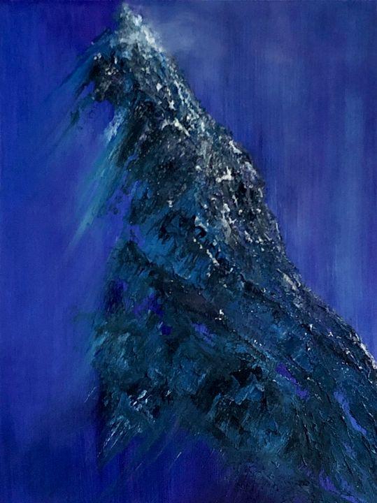 Purple Evening in the Mountains - AMO Studio