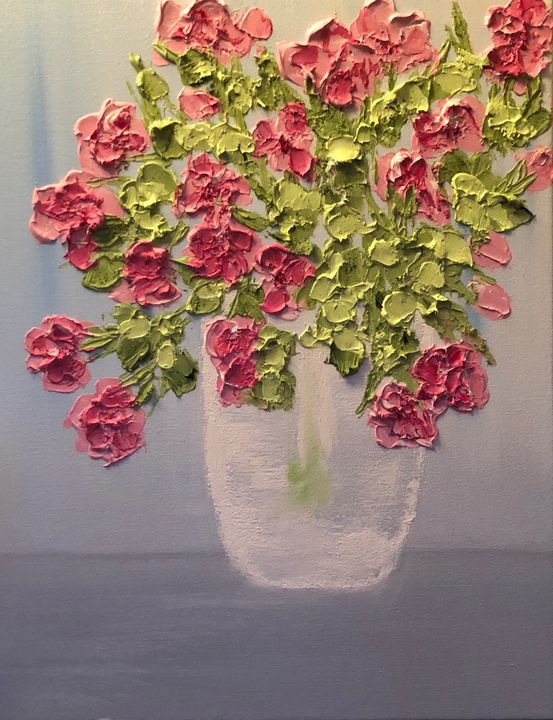 Pink Flowers - AMO Studio