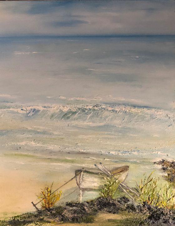 """The Lonely Little Boat """"Coral Sea"""" - AMO Studio"""
