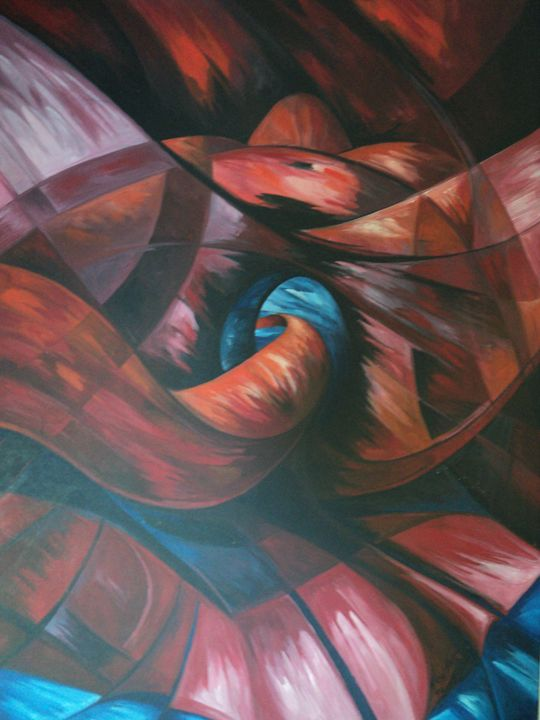 Path of lifeAbstract piece - Alejandro del Valle